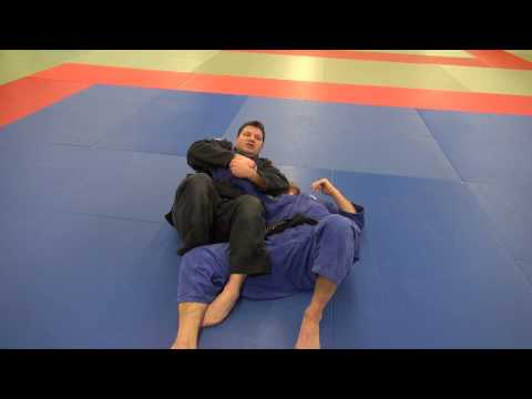 BJJ - Americana shoulder lock from North-South position