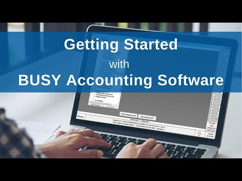 Getting Started with BUSY (for India) - Hindi