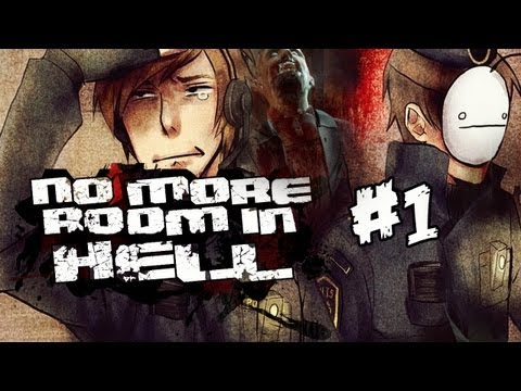 No More Room In Hell (Co-op): Cry & Pewds Tries To Play - Part 1 (Mini Series)