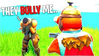 Bullies Made Him Cry On Fortnite, So I Did This... *EMOTIONAL*