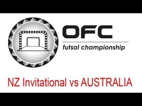 2013 OFC Futsal Championship Invitational Match Day 1 New Zealand Invitational vs Australia