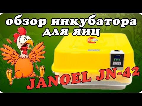 Автоматический домашний инкубатор для яиц Janoel JN-42 \ JN 130140 (Джаноель)