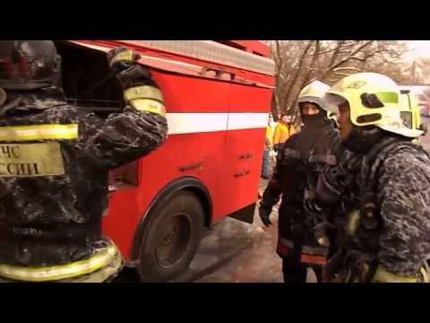 Пожар в Москве на Нагорной 01.02.2014. Сгорело всё !!!