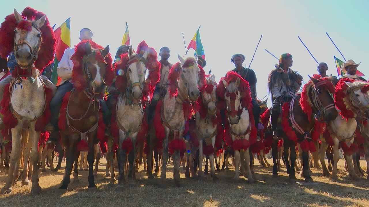 LTV Discover Ethiopia ኢትዮጵያን እንወቅ: Horse Riding Competition in Awi Enjibara - አዊ እንጅባራ ፈረስ ጉግስ