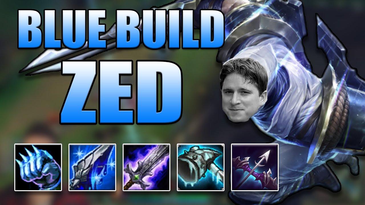 BLUE BUILD ZED MID (NEW KOREAN ZED BUILD) - League of Legends