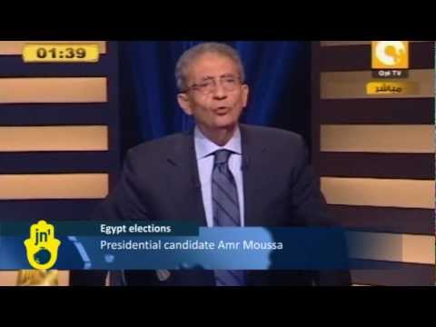 Egyptian Presidential Candidates Debate: Both Agree Israel is Enemy, Will Review Peace Treaty
