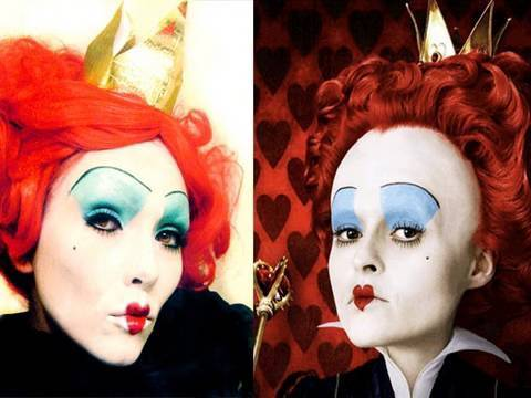 Queen of Hearts (Alice In Wonderland) Make-up (by kandee) Video