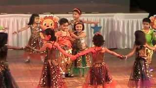 Yashomati Maiya se bole nandlala, Maiya Yashoda, Radha teri chunari - shanti juniors - new ranip