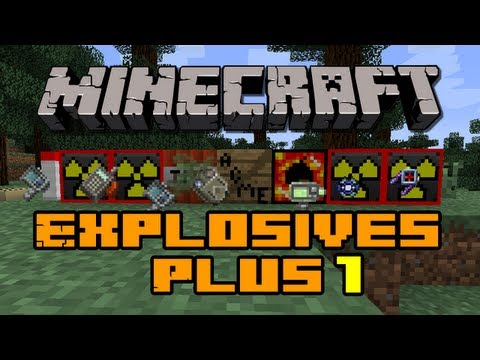 Minecraft Mods - Explosives Plus