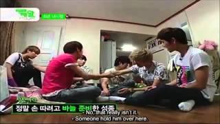 Infinite Dongwoo Hidden Camera [ENG]