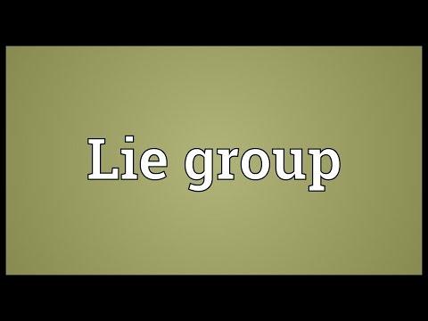 Header of Lie group
