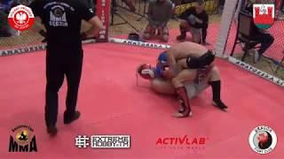 MP MMA 2018 OFS 93 kg Samociuk M vs Łapiński R