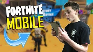 FAST MOBILE BUILDER on iOS / 1075+ Wins / Fortnite Mobile + Tips & Tricks!