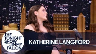 Download Lagu Katherine Langford Burst into Tears Talking to Brie Larson and Reese Witherspoon Gratis STAFABAND