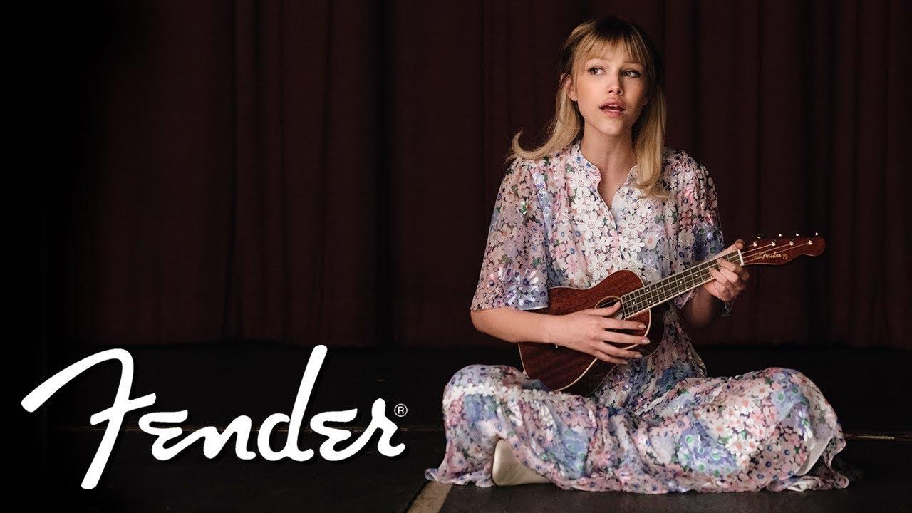 """Grace VanderWaal - """"A Better Life""""のパフォーマンス映像を公開 Fenderからシグネイチャーモデルのウクレレ2機種を発売 thm Music info Clip"""