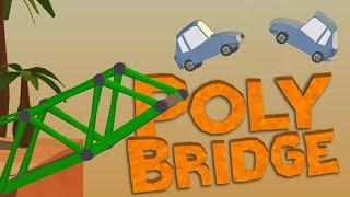 Прохождение игры где надо строить мосты видео