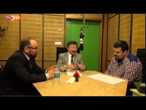 Merhaba Dünya Program at TRT Radio Voice of Turkey, Ankara, 2015 IV 09/08:30