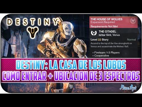 DESTINY - GLITCH: COMO ENTRAR A LA CASA DE LOS LOBOS + 3 ESPECTROS MUERTOS (SIN TENER EL DLC)