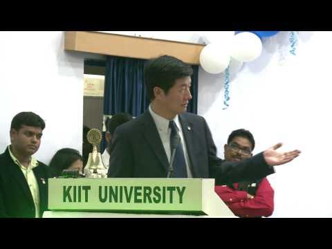 Sikyong's Speech at KIIT University 2015