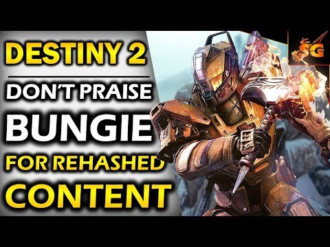 DESTINY 2   WHY WE SHOULDN'T PRAISE BUNGIE FOR THEIR SO CALLED UPDATE & WHY FANS ARE STILL UPSET