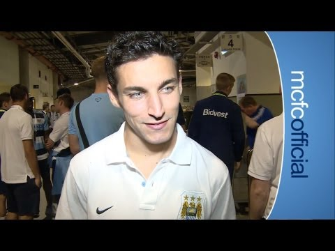 City v Sunderland: Jesus Navas DEBUT
