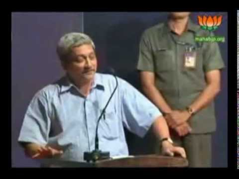 Hon.Shri.Manohar Parrikar in Nagpur on March 23