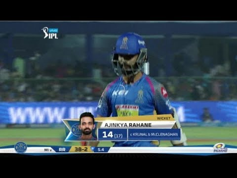MI Vs RR Full Match Highlights - IPL 2018 - Mumbai Indians Vs Rajasthan Royals