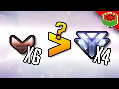CAN 6 BRONZE PLAYERS BEAT 4 DIAMONDS?   Overwatch