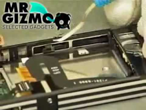 C902 Sony Ericsson Disassembly.mp4