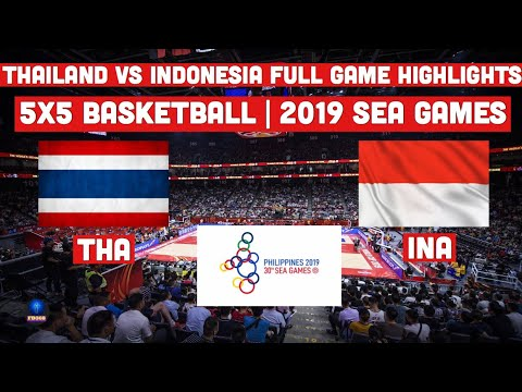 Highlights: Thailand vs Indonesia | 5X5 Basketball Mens Preliminaries | 2019 SEA Games