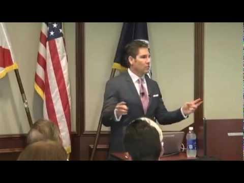 Grant Cardone speaking at The Huizenga Sales Institute