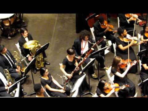 Booker T. Washington High School Orchestra at Northpark Center in Dallas