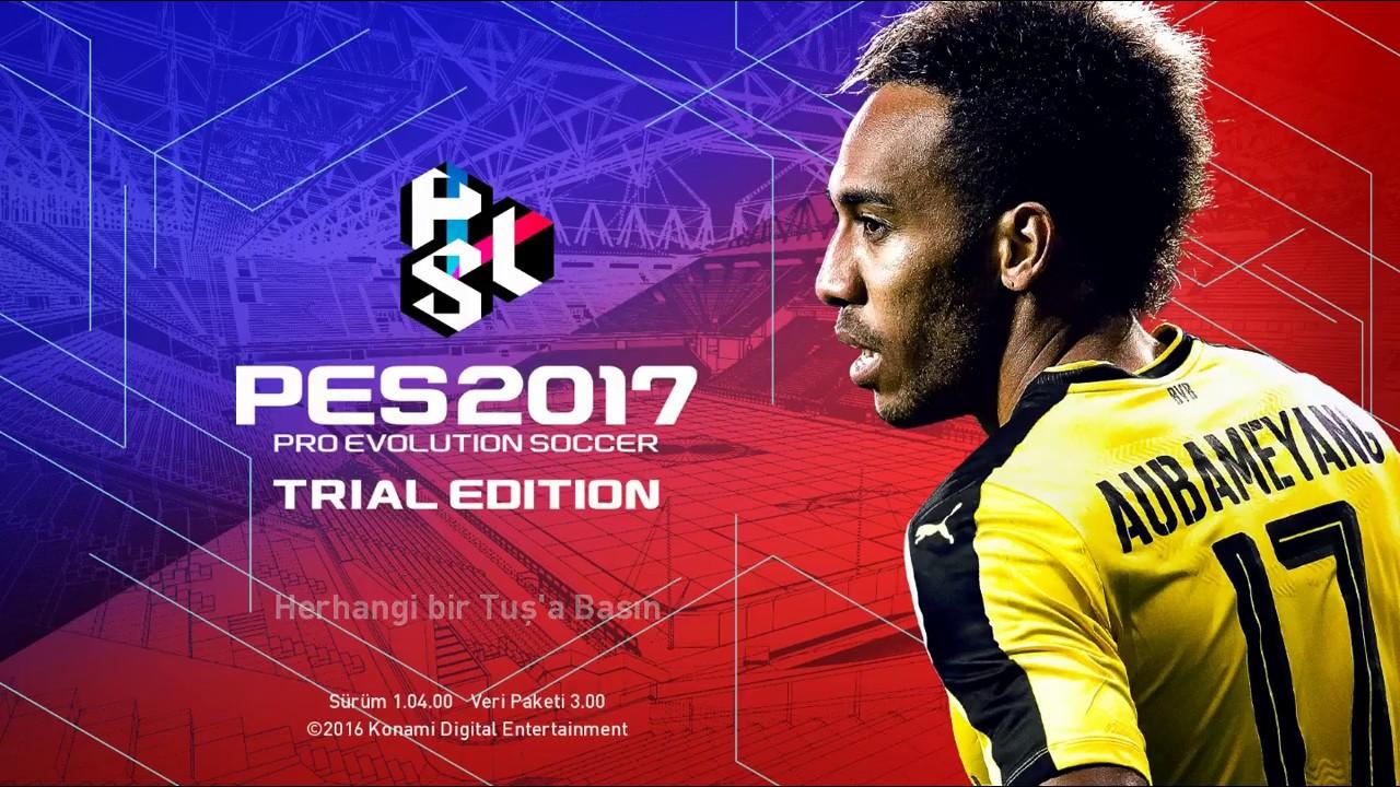 Pes 2018 trial edition как играть