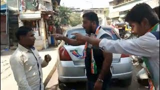 MNS Party Worker Attack On North Indian Fish Sellers In Thane