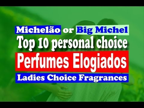 Perfumes Noite Elogios Top 10 Most Complemented Fragrances - with subtitles
