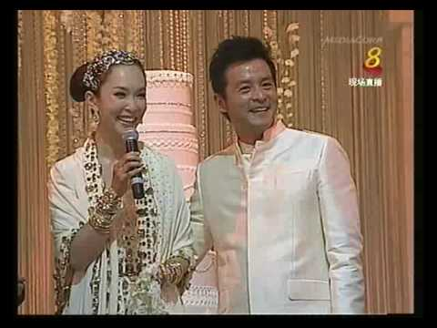 [HQ] Fann Wong & Chris Lee Actual Wedding Dinner Pt4/5- 29/09/09