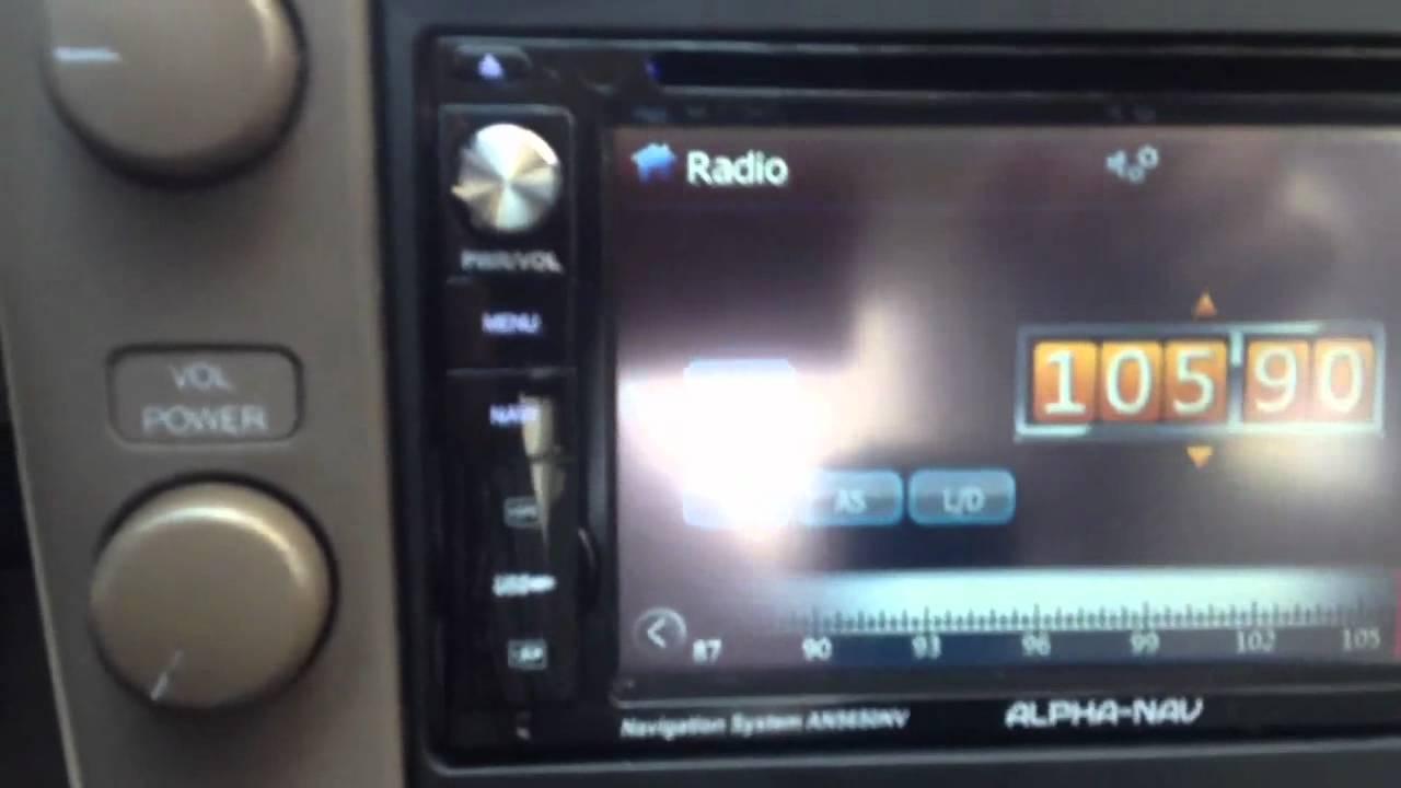 Lexus Sc400 Sc300 Double Din Alpha Nav Navigation Al Amp Eds
