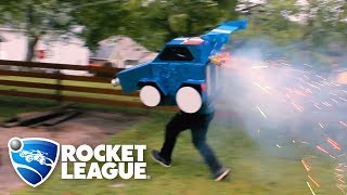 How to make a Rocket League car in real life