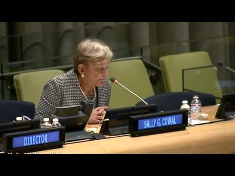 UN Civil Society Hearing on the prevention and control of cancer and non-communicable diseases