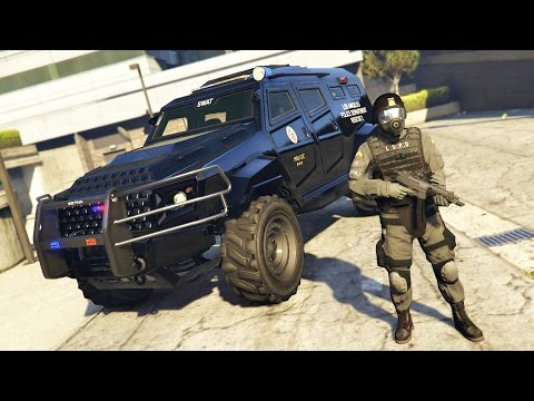 GTA 5 Mods - PLAY AS A COP MOD!! GTA 5 Police SWAT LSPDFR Mod Gameplay! (GTA 5 Mods Gameplay)