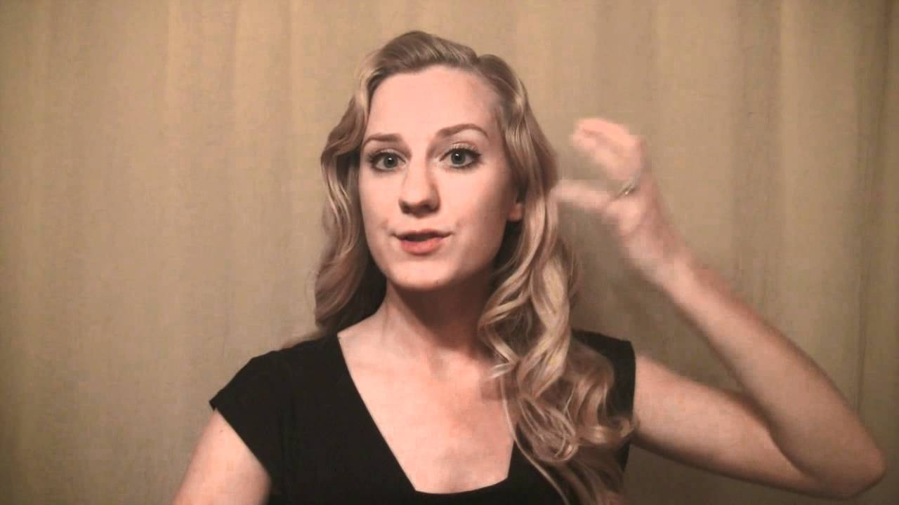How to Finger Wave Long Hair