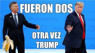 DONALD TRUMP Y MACRI EN LA CUMBRE DEL G20