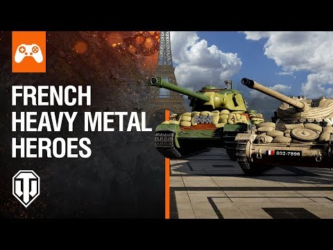 World of Tanks Console: French Heavy Metal Heroes