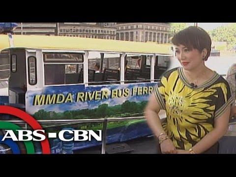 Kris tries MMDA ferry