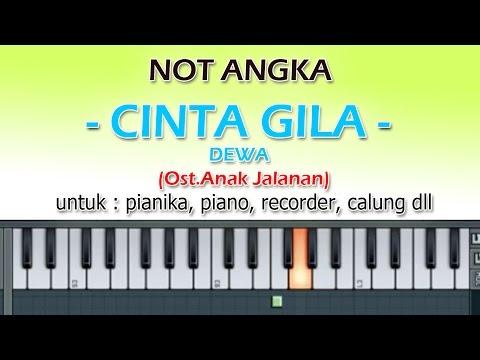 NOT ANGKA - CINTA GILA - DEWA  (Ost.Anak Jalanan)  by denny ranch YOUTUBE CHANEL