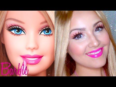 Barbie Makeup Tutorial Barbie Makeup For Halloween