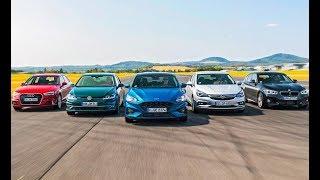 2019 Audi A3 vs BMW 118i vs Ford Focus vs Opel Astra vs VW Golf