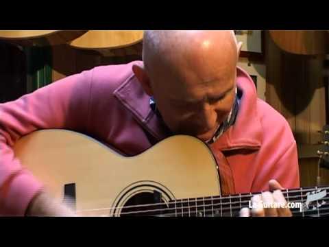 Dan Ar braz et ses guitares Boucher