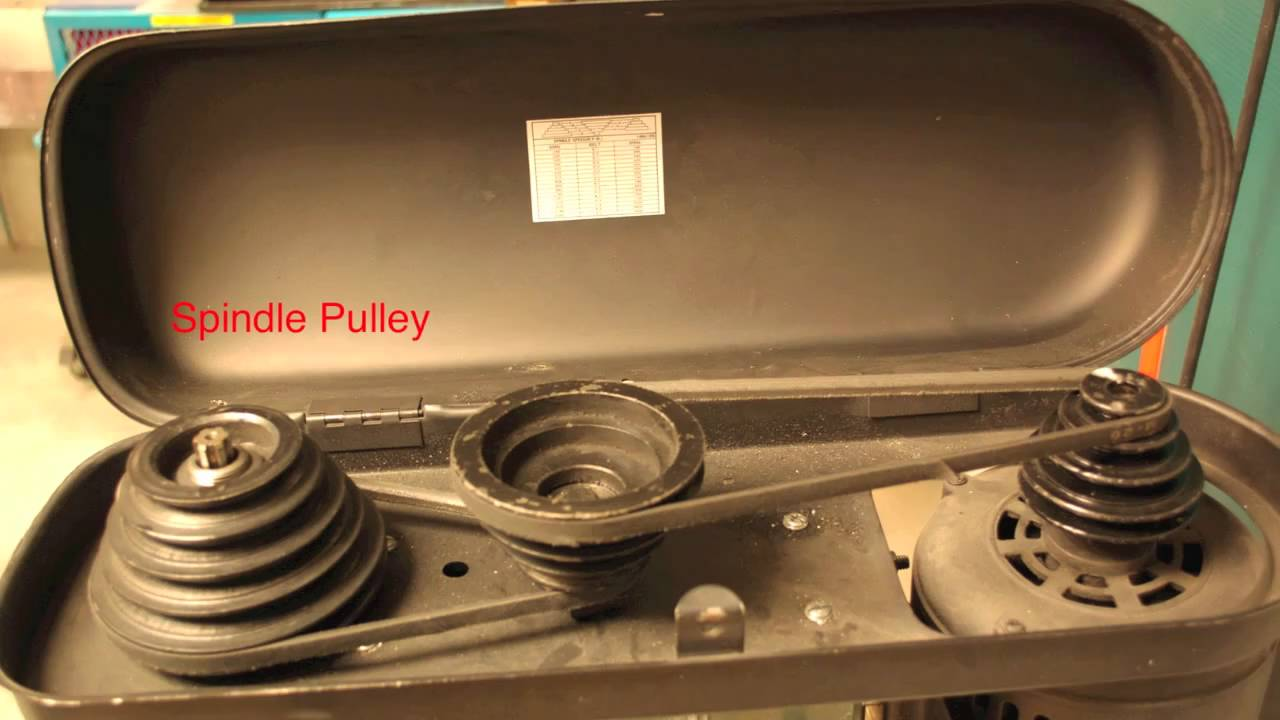 Drill Press Safety And Adjustment Mov Youtube