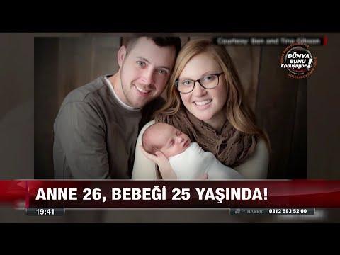 Anne 26, bebeği 25 yaşında! - 20 Aralık 2017